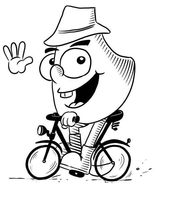 Weihrichkarzl auf Radtour