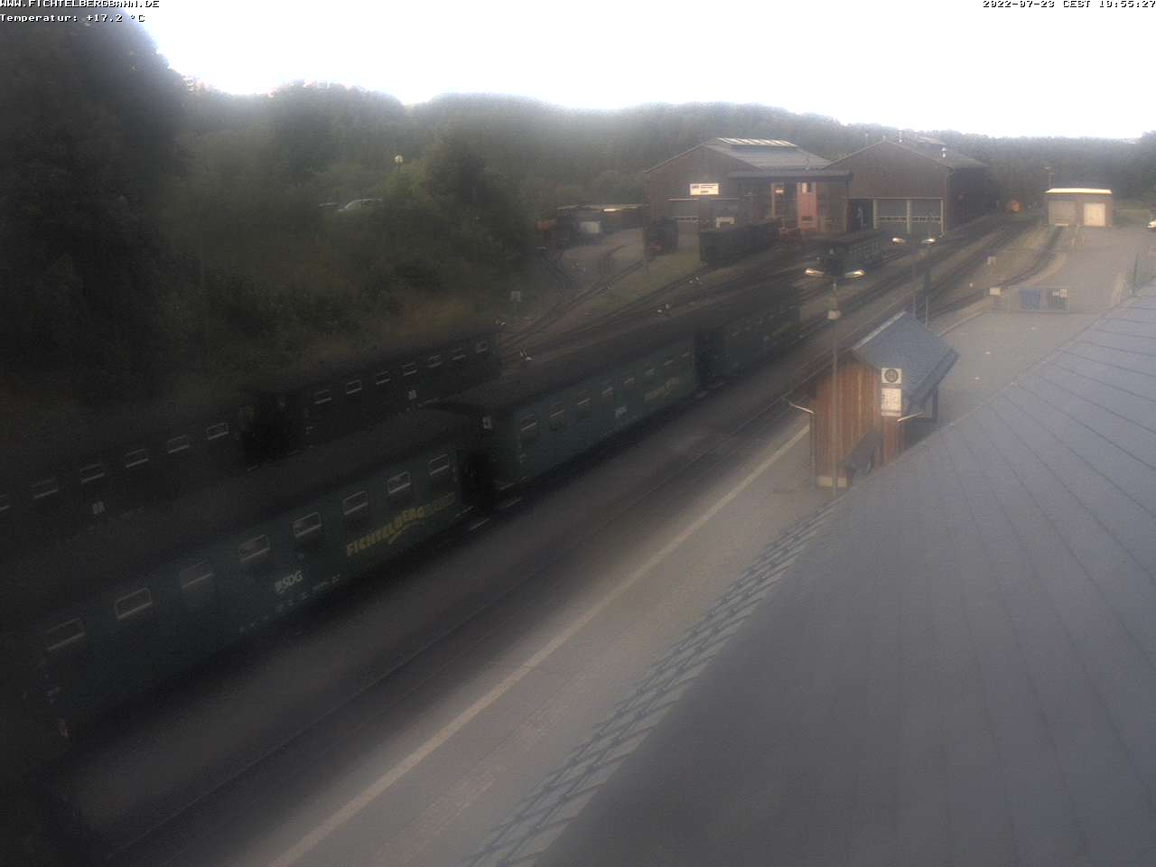 Webcam Fichtelbergbahn
