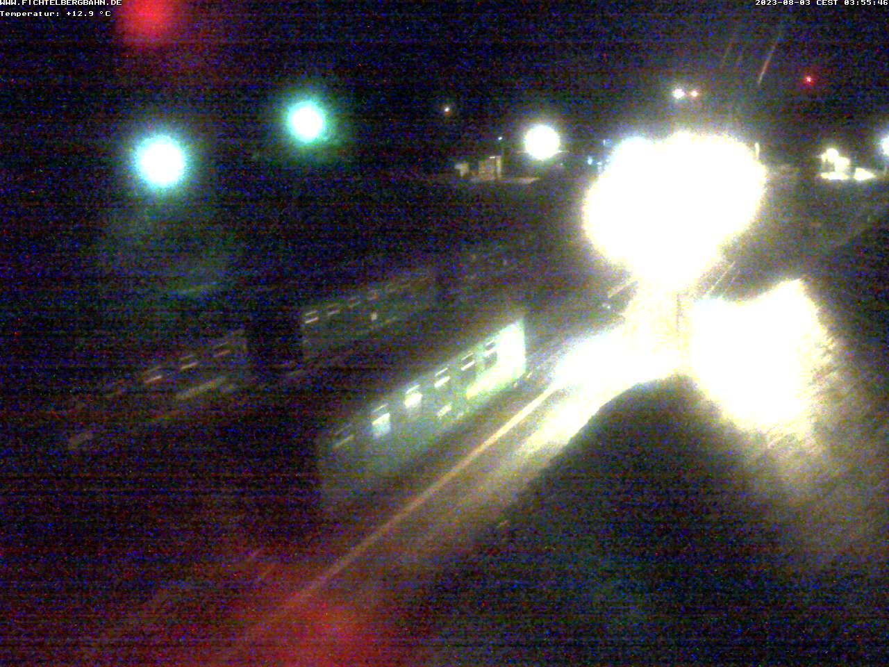 Webcam Skigebiet Oberwiesenthal Bahnhof - Erzgebirge